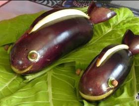 осенние поделки из овощей фото