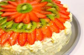 Творожный торт для малышей