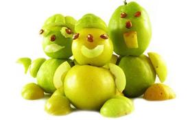 поделки из овощей дары осени
