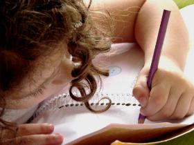 Как научить ребенка писать красиво