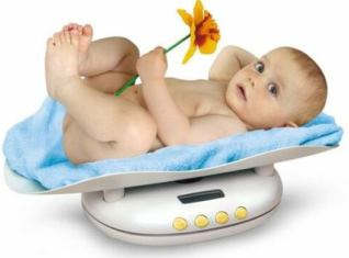 Прибавка в весе новорожденного