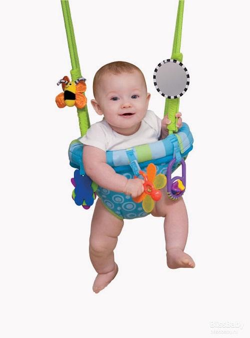 Как крепить детские подвесные прыгунки