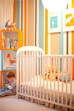 Детская комната для маленького мальчика