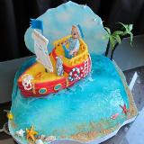 Детские торты для мальчиков: идеи и фотографии