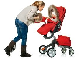 Зимний конверт в прогулочную коляску - это самая лучшая идея
